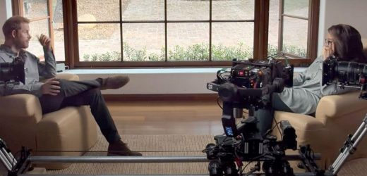 Prince Harry, Oprah Winfrey share behind the scenes details of new docuseries 'The Me You Can't See'