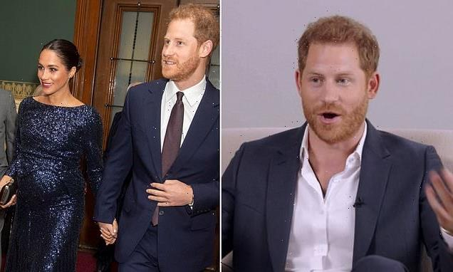 Prince Harry reveals how he coped with Meghan's suicidal feelings