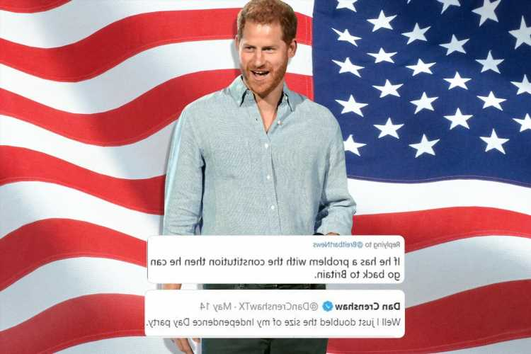 Prince Harry told 'get the hell out of US' by furious Americans after he called First Amendment 'bonkers'