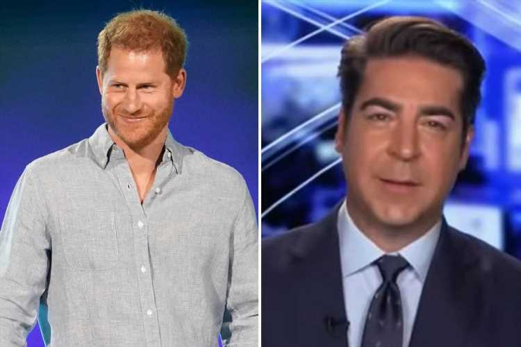 Prince Harry 'complains about press more than Trump' says Fox News host
