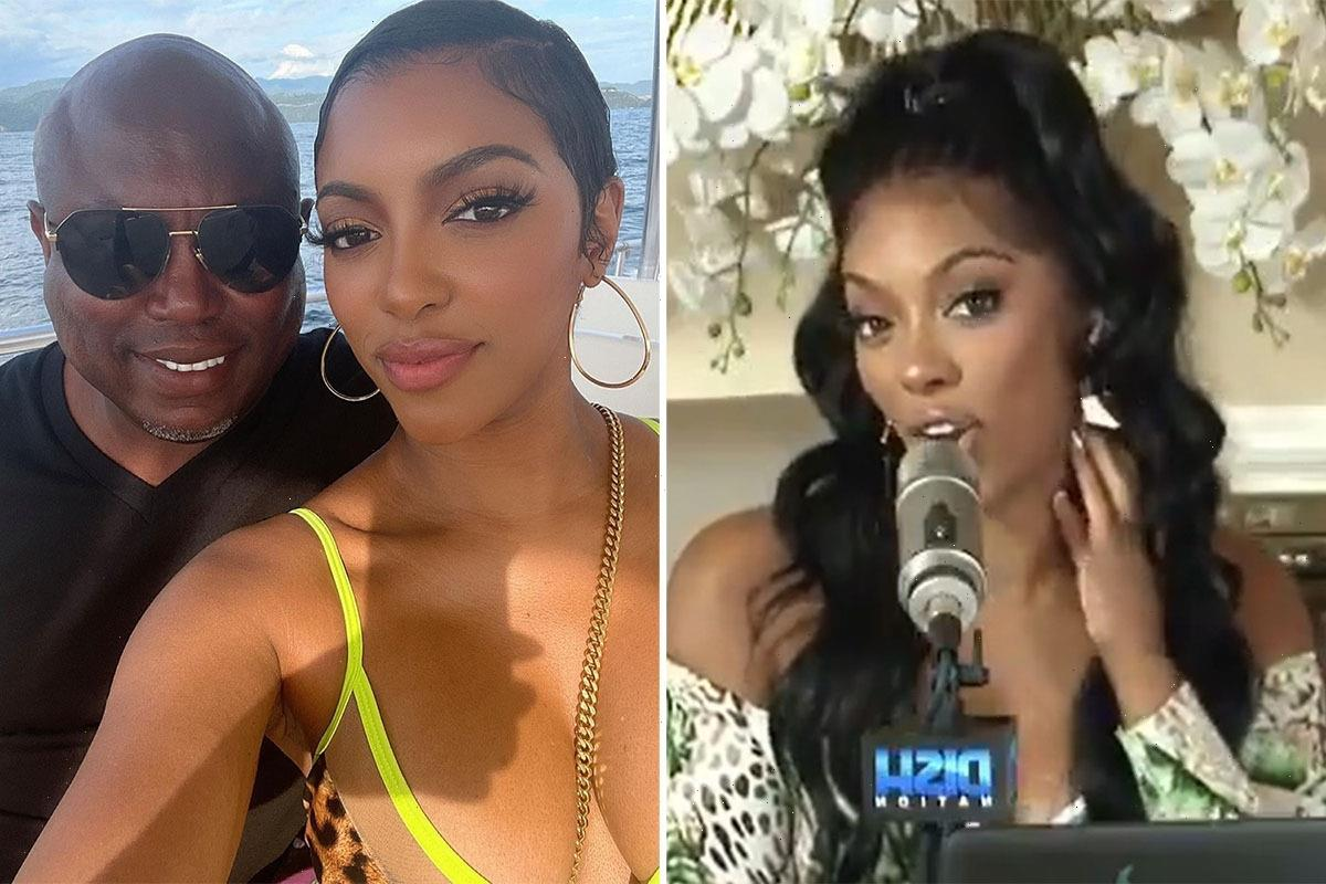 RHOA's Porsha Williams gets tattoo of fiance Simon Guobadia's name on her NECK after just a month of dating