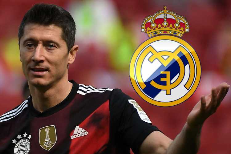 Real Madrid eye Robert Lewandowski transfer and Bayern Munich striker could be available for £52m with deal running down