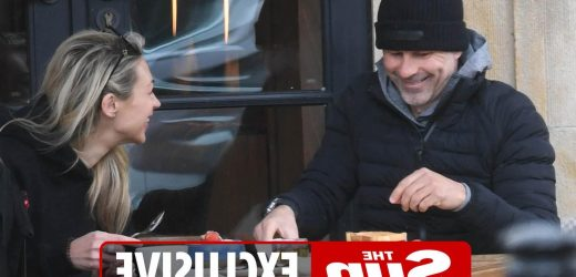 Ryan Giggs has breakfast with new lover as he's pictured for first time since court appearance over 'assaulting ex'