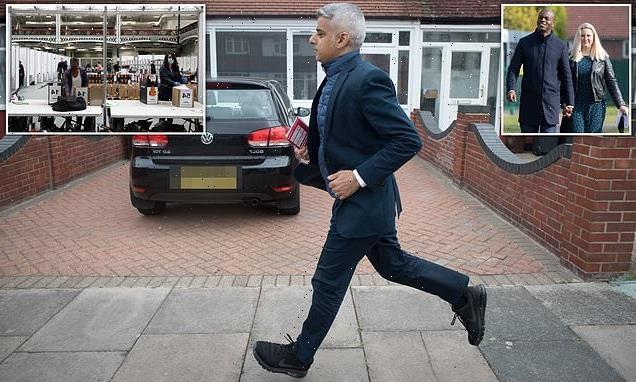 Sadiq Khan has four-point lead over Shaun Bailey in London mayor race