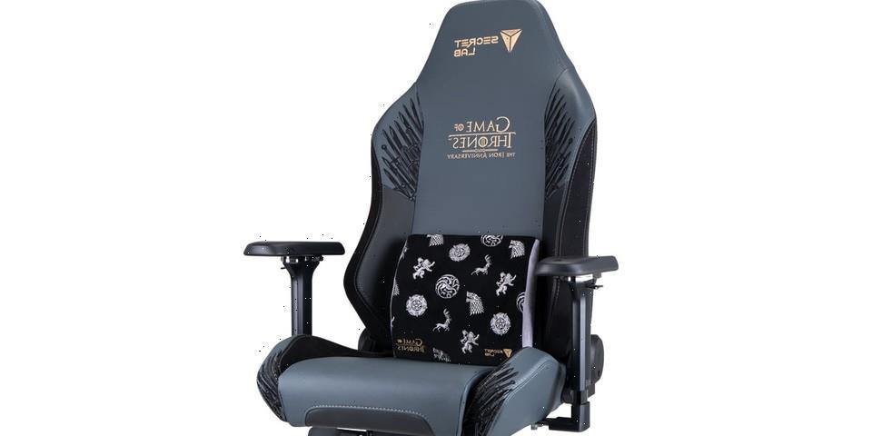 Secretlab's Newest Gaming Chair Recreates the Iron Throne
