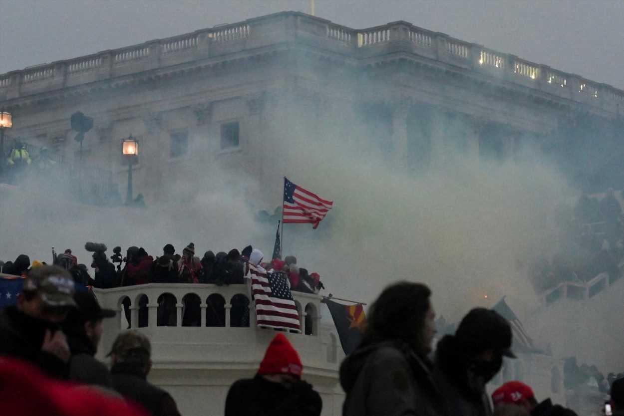 Senate Republicans vote to BLOCK January 6 commission bill to investigate Capitol riot after Trump's criticism