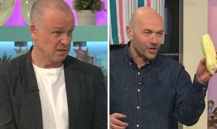 Sunday Brunch viewers horrified by Simon Rimmer's sweetcorn wings 'Stop getting food wrong
