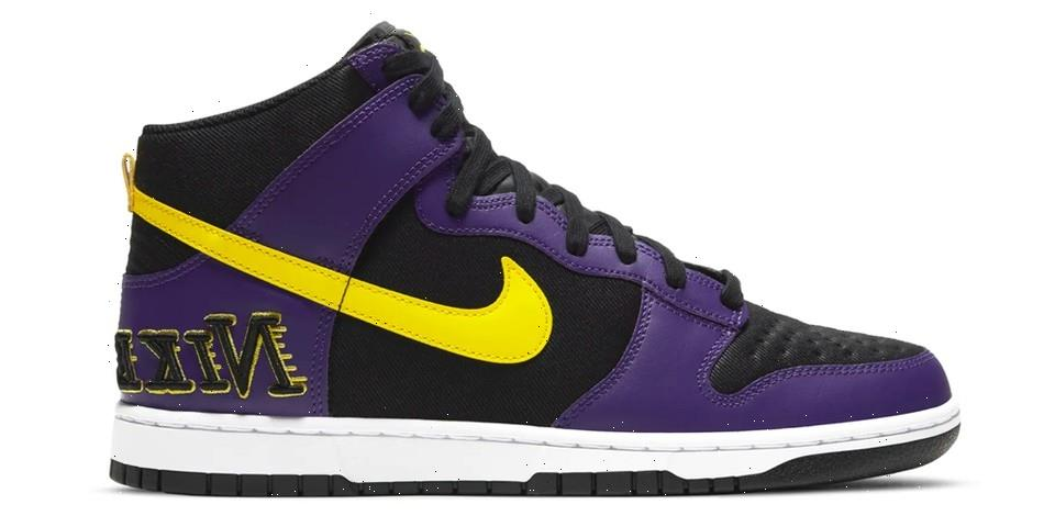 """Take an Official Look at the Nike Dunk High """"Court Purple"""""""