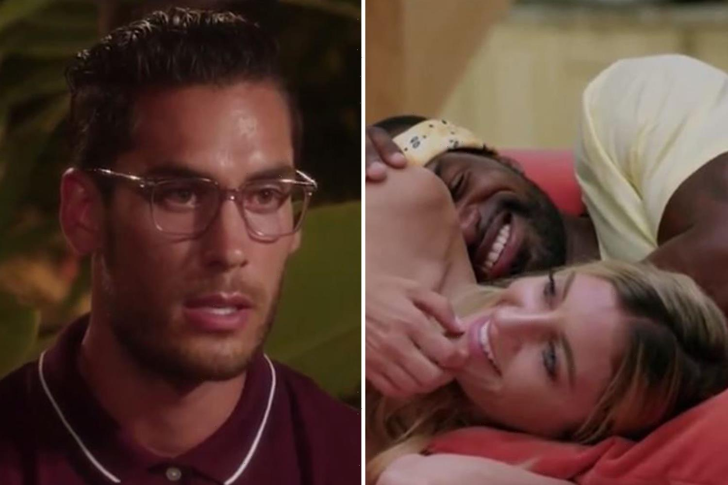 Temptation Island fans slam David over 'crocodile tears' after his 'wild' night as his girlfriend Kate stays loyal