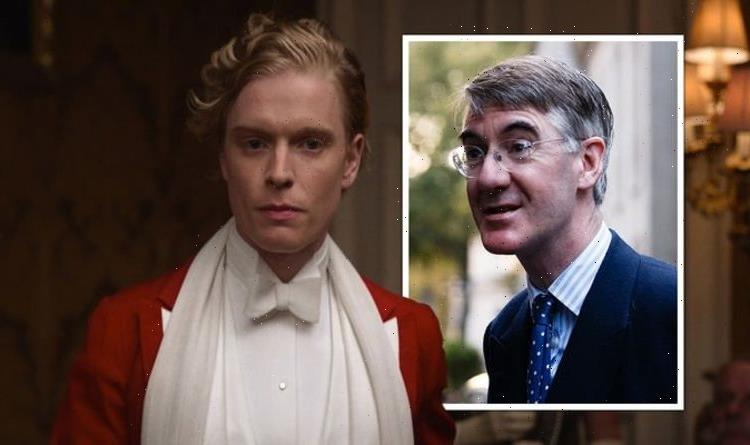 The Pursuit Of Love viewers spot subtle dig at Jacob Rees-Mogg 'The JRM slouch'