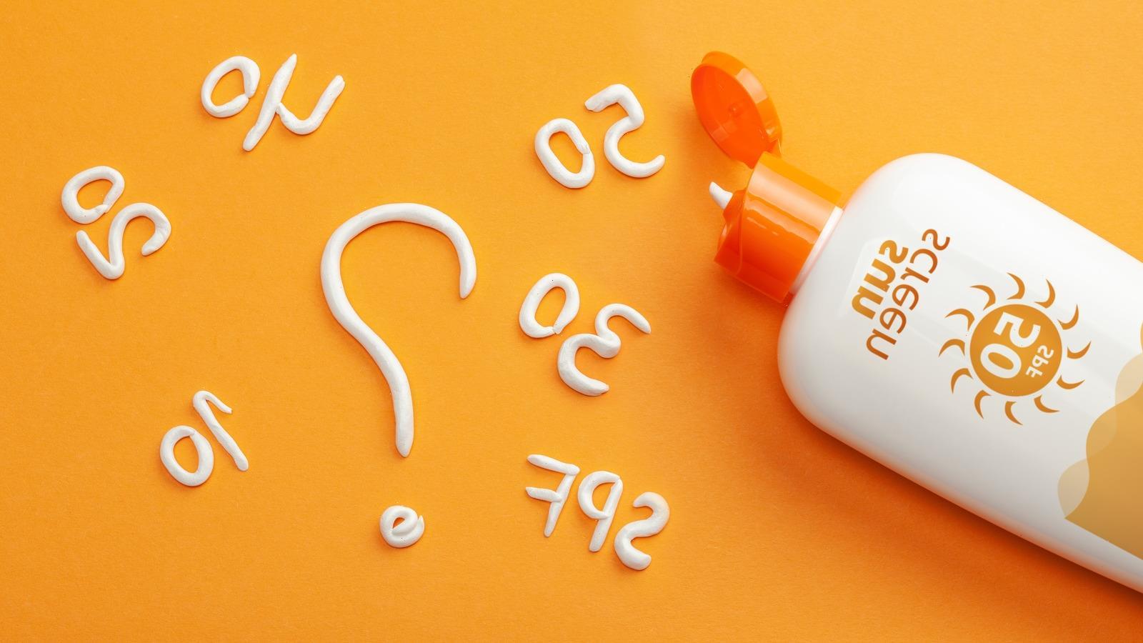 The Real Reason You Shouldn't Buy Sunscreen At Dollar General