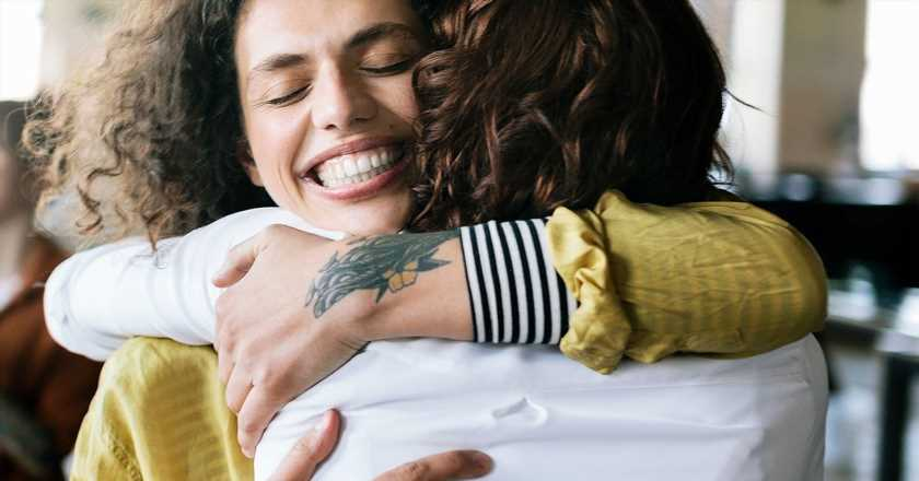 This is what getting a hug does to your brain