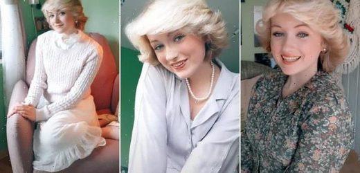 TikTok user recreates Princess Diana's signature hairstyle
