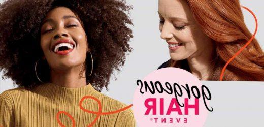 Ulta Beauty Gorgeous Hair Event offers 50% off deals through  May 29