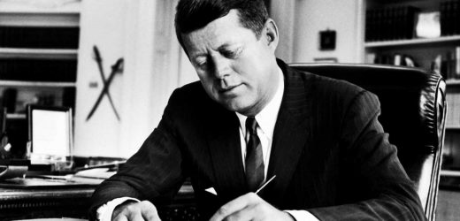 What did JFK write in his love letters to Swedish mistress Gunilla von Post?