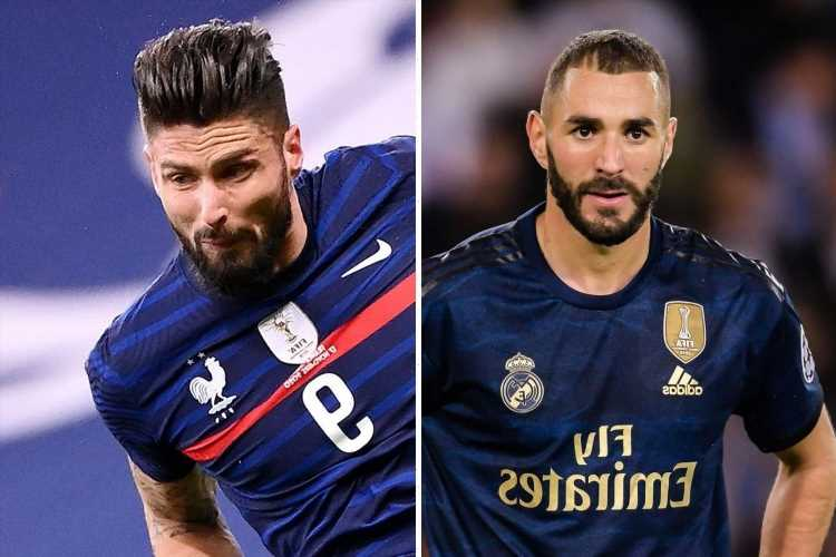 What did Karim Benzema say about Olivier Giroud, why didn't he play for France and who has most international goals? – The Sun