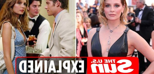 Why did Mischa Barton leave The O.C.?