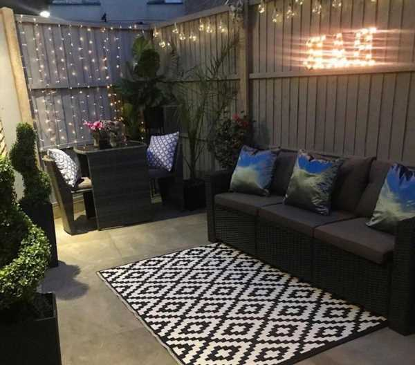 Woman transforms 'tiny garden' into stunning space on a budget with bargains from Amazon, Aldi, B&M, eBay & The Range