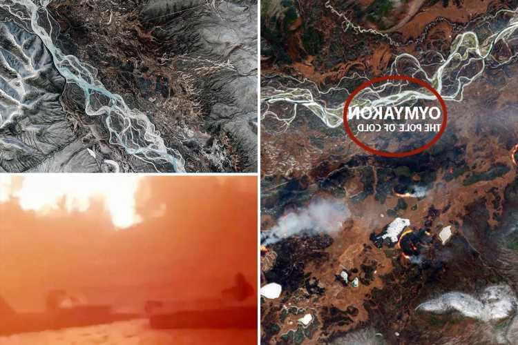 World's coldest village facing freak wildfires caused by ZOMBIE infernos burning underground in -60C freeze