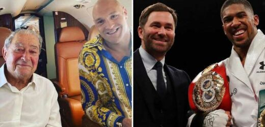 Anthony Joshua fight with Tyson Fury collapsed because Eddie Hearn was 'screwing around with Saudi deal', slams Bob Arum
