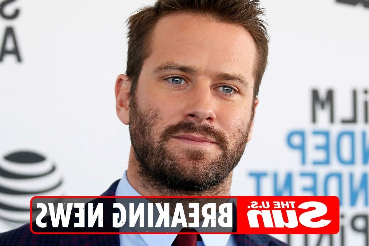 Armie Hammer 'checks into rehab for drug, sex & alcohol' after rape and cannibal allegations