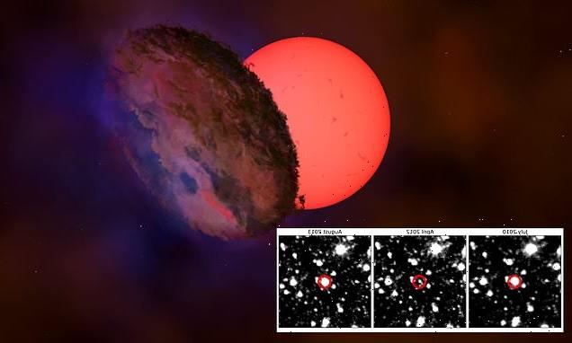 Astronomers spot a 'blinking giant' near the centre of the galaxy