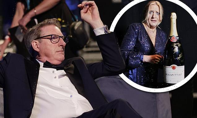 BAFTA TV Awards 2021: Line Of Duty's Adrian Dunbar hangs out backstage