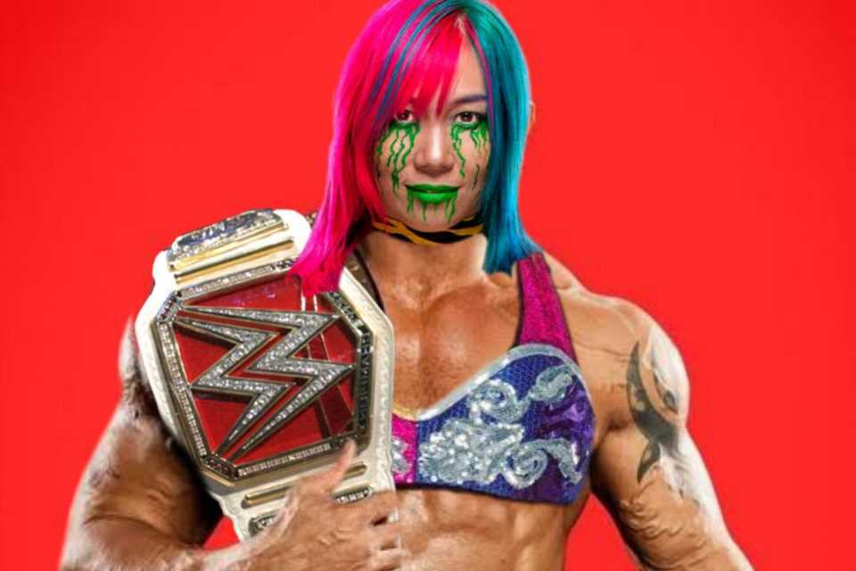 Batista needs time to 'process' bizarre picture after WWE superstar Asuka photoshops her head on his body