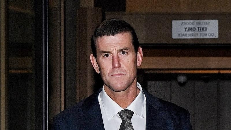Ben Roberts-Smith was working to a crescendo when suddenly he fell silent