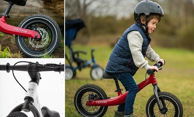 Bentley launches new children's bike for £450