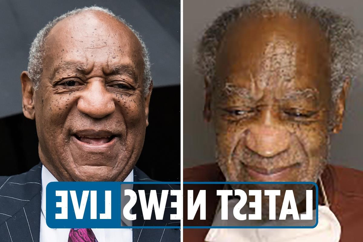Bill Cosby released LIVE – Disgraced star to be SET FREE from Pennsylvania prison after conviction overturned