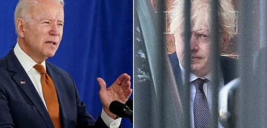 Boris Johnson 'told Joe Biden he hates the term Special Relationship'