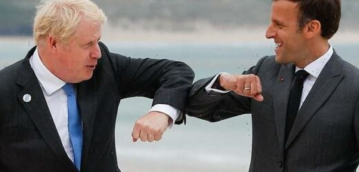 Boris Johnson trolled Macron at G7 with jibe about vintage wine