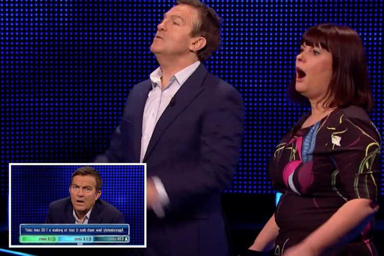 Bradley Walsh slams 'nonsense' question on The Chase crying 'Can you believe that?!'