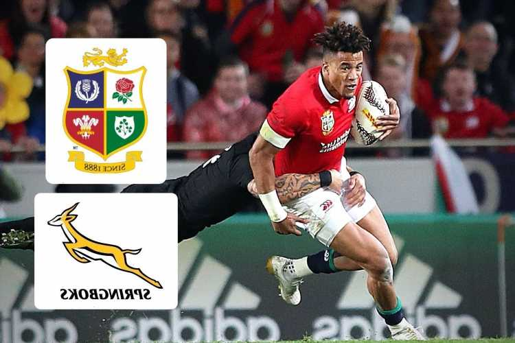 British and Irish Lions 2021 tour fixtures, dates and TV channel for South Africa tour – and are there any fans present?