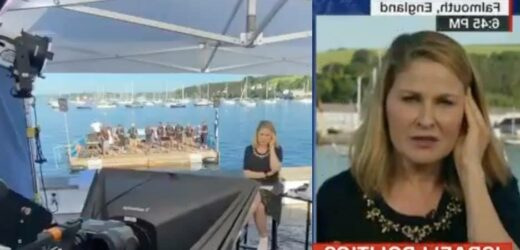 CNN Anchor's Shot Interrupted by Sailors Singing Shanty (Video)