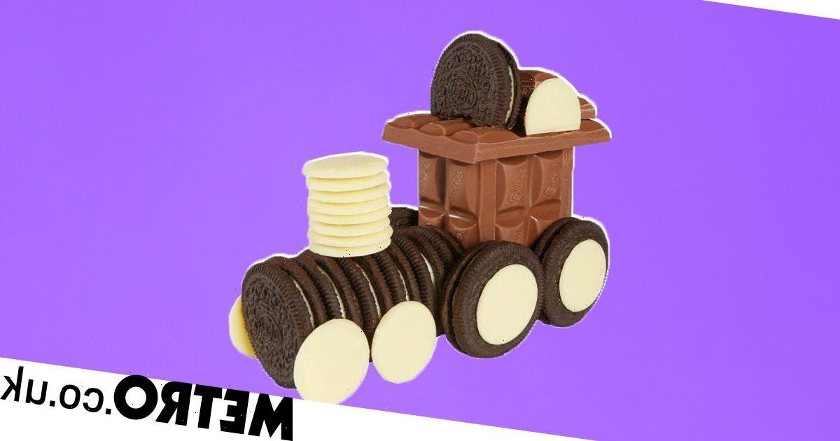 Cadbury releases kit to make your own chocolate train out of Oreos