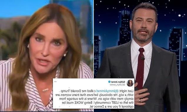 Caitlyn Jenner accuses Jimmy Kimmel of transphobia for Trump joke