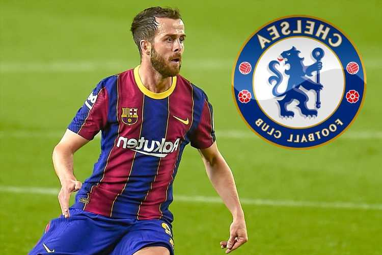 Chelsea interested in Barcelona outcast Miralem Pjanic but face three-club transfer battle with Juventus and PSG