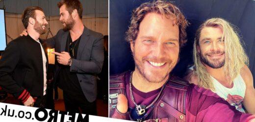Chris Evans trolled by Chris Hemsworth as Avengers stars mark his 40th birthday