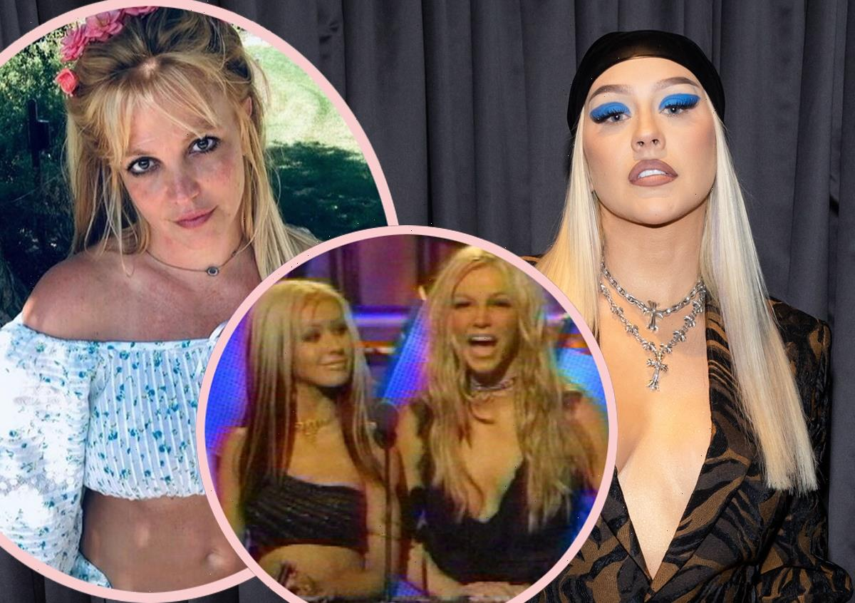 Christina Aguilera Has A Strong Message About Britney Spears' Conservatorship!