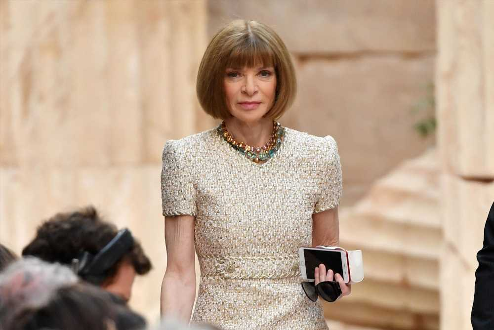 Condé  Nasty! Staffers urged to picket at Anna Wintour's home