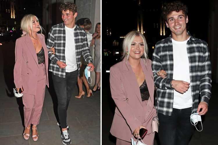 Coronation Street's Lucy Fallon looks loved up with new footballer boyfriend Ryan Ledson