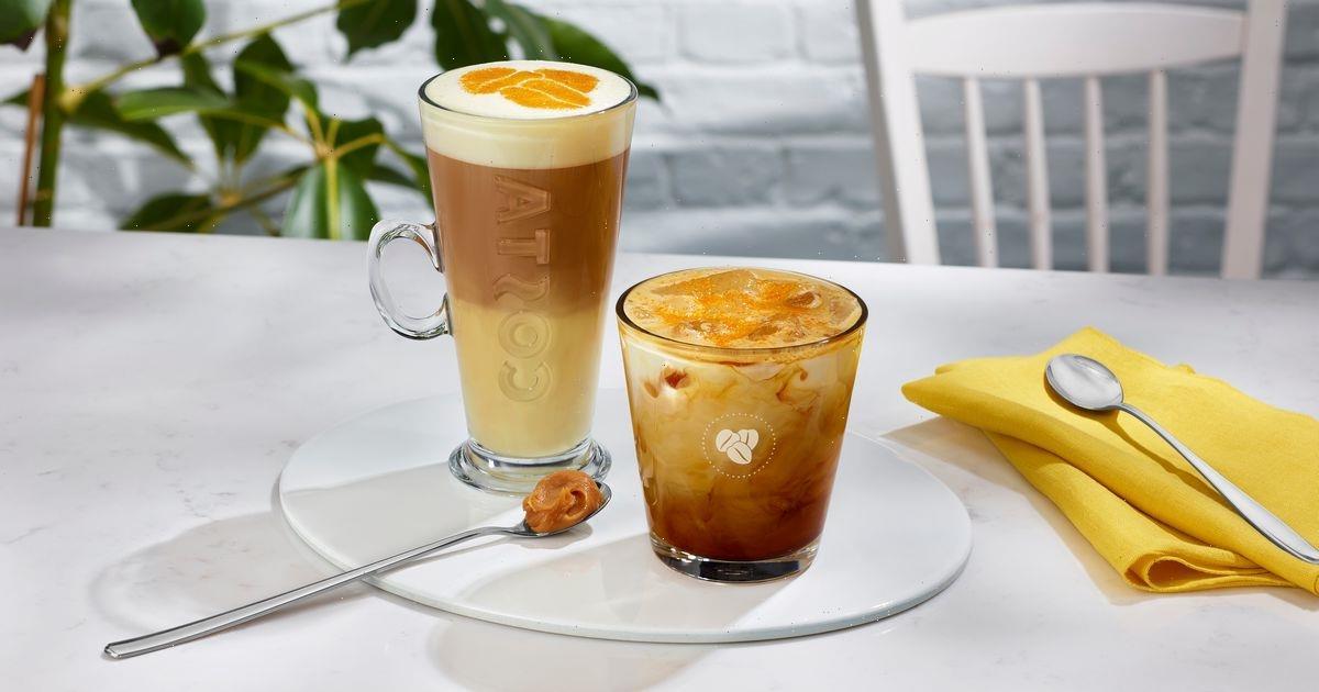 Costa's summer menu includes new golden caramel lattes that look delicious