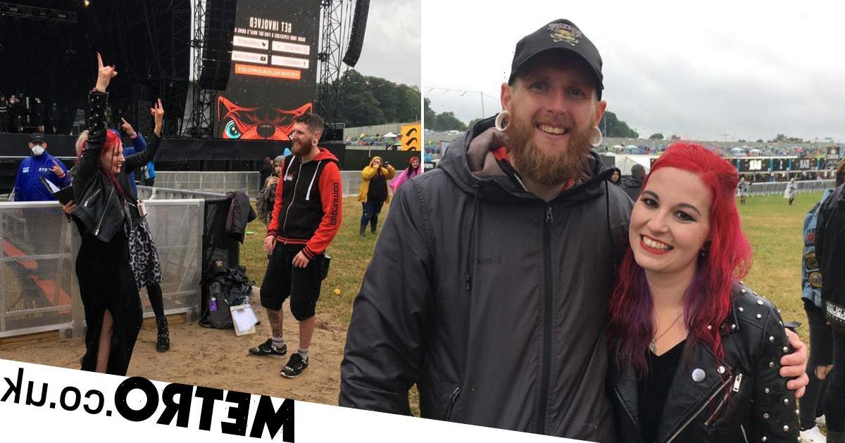 Couple get married at Download – a decade after meeting at the festival