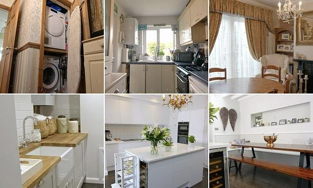 Couple transform their 1930s semi on Your Home Made Perfect