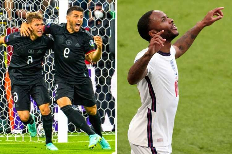 England vs Germany FREE: Live stream, TV channel, kick-off, team news for Euro 2020 Last 16 clash