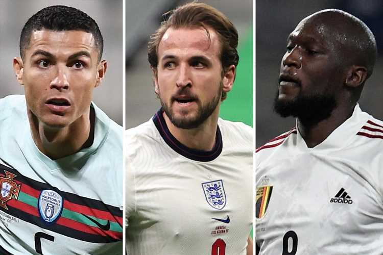 Euro 2020 top scorer odds: Harry Kane is bookies' early favourite to win the Golden Boot