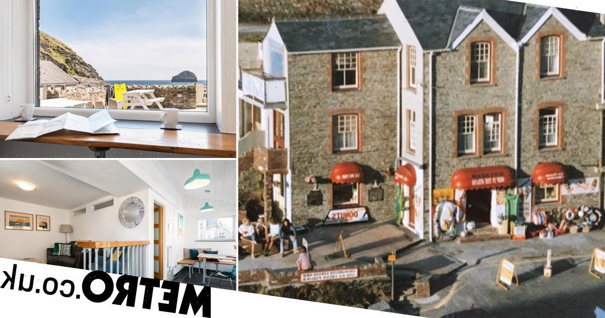 Former Cornish beach shop converted into flat now on the market for £495k