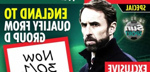 Get England at 30/1 to qualify from Euro 2020 Group D with Paddy Power special